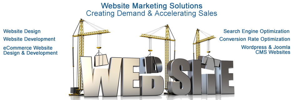 Website Marketing | Website Design & Development | eCommerce | SEO | WordPress & Joomla | CMS Solutions